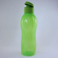 Эко-бутылка (1 л) в салатовом цвете с клапаном И70