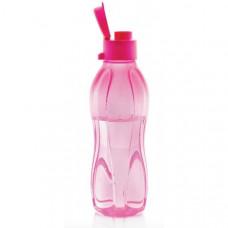 Эко-бутылка в розовом цвете (500 мл) с клапаном И72
